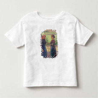 The Chat, c.1892 (oil on canvas) Toddler T-Shirt