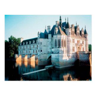 The Chateau de Chenonceau In France Postcard