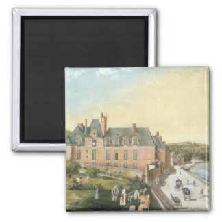 The Chateau de la Chaussee, Bougival Square Magnet
