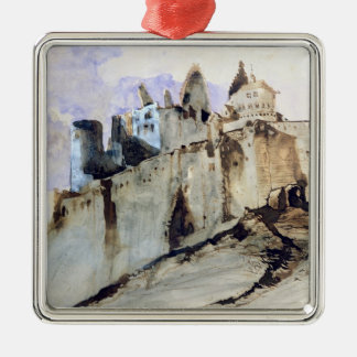 The Chateau of Vianden, 1871 Christmas Ornament