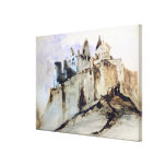 The Chateau of Vianden, 1871 Gallery Wrap Canvas