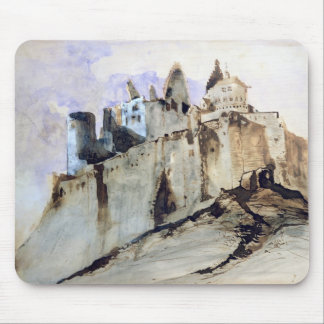The Chateau of Vianden, 1871 Mouse Mat