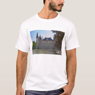 The Chateau Pichon Longueville Baron and pond T-Shirt