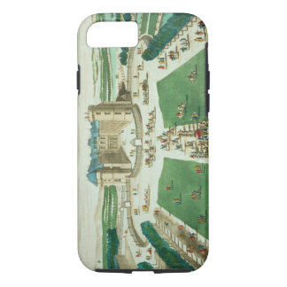 The Chateau Rambouillet, engraved by Antoine Aveli iPhone 8/7 Case