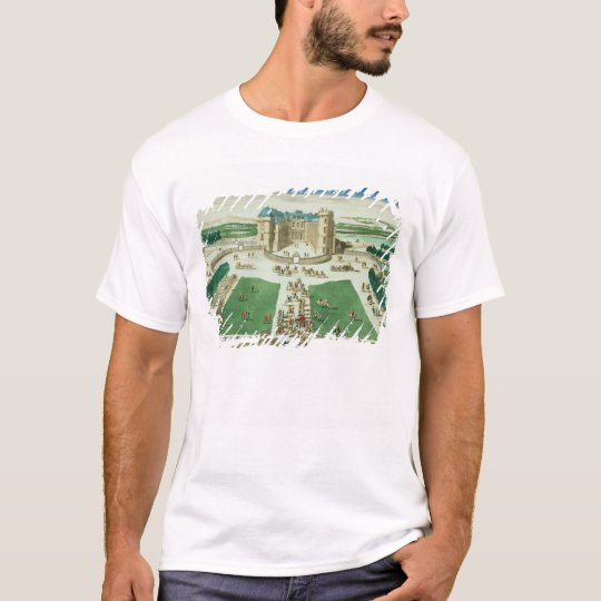 The Chateau Rambouillet, engraved by Antoine Aveli T-Shirt