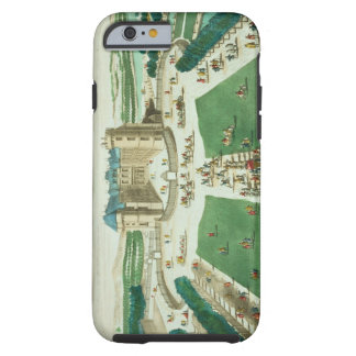 The Chateau Rambouillet, engraved by Antoine Aveli Tough iPhone 6 Case