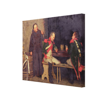 The Cheat (oil on canvas) (one of pair - See 19572 Canvas Prints