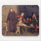 The Cheat (oil on canvas) (one of pair - See 19572 Mouse Mat