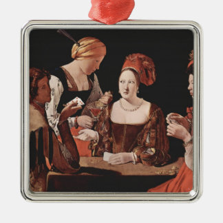 The Cheat with the Ace of Diamonds - 1635 Christmas Tree Ornament