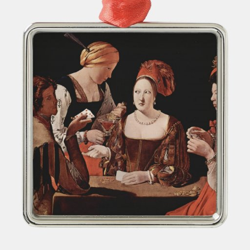 The Cheat (with the Ace of Diamonds) - 1635 Christmas Tree Ornament