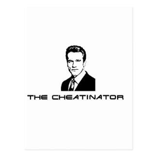 The Cheatinator Postcard