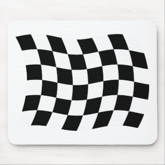The Checkered Flag Mousepad