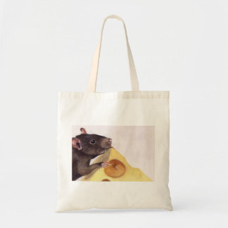 The Cheese and Rat Budget Tote Bag