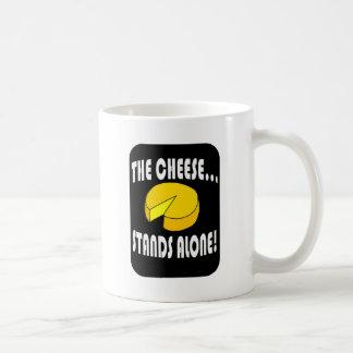 the cheese basic white mug
