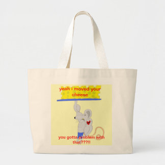 The Cheese Mover products Canvas Bags