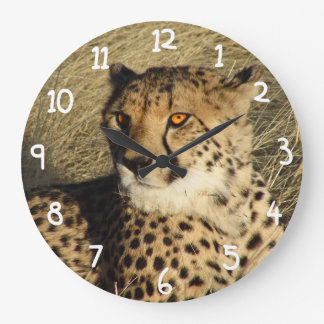 The Cheetah Large Clock