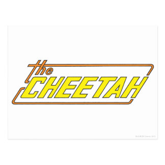 The Cheetah Logo Postcard