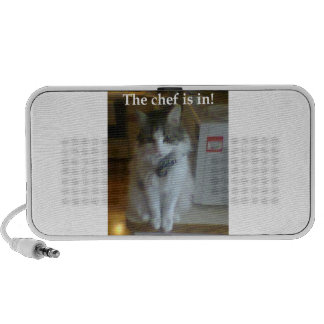 The Chef Is In! Mp3 Speakers