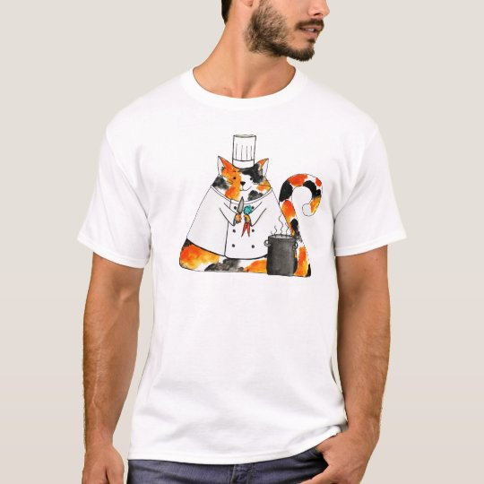 The Chef Puff Cat T-Shirt