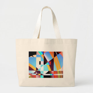The Chequered Flag Large Tote Bag