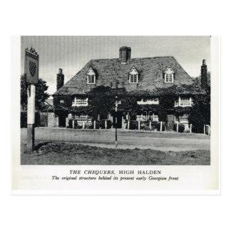 The Chequers, High Halden Postcard