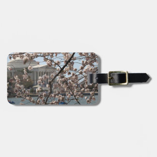The Cherry Blossoms In Bloom In Washington DC Luggage Tag