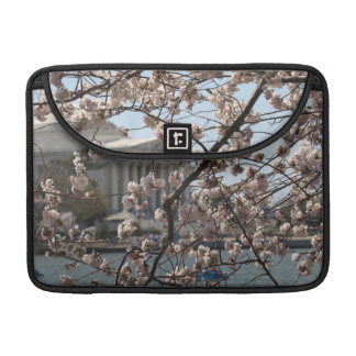 The Cherry Blossoms In Bloom In Washington DC Sleeve For MacBook Pro