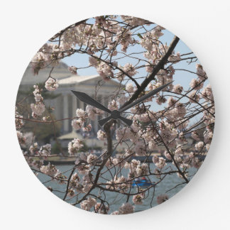 The Cherry Blossoms In Bloom In Washington DC Wallclock