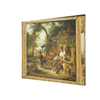 The Cherry Seller Canvas Print