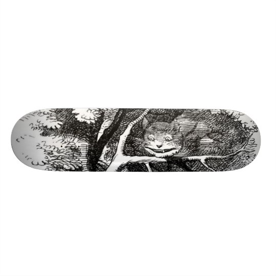 The cheshire cat 20.6 cm skateboard deck