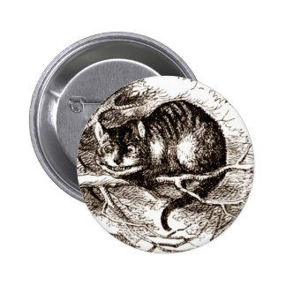 The Cheshire Cat 6 Cm Round Badge