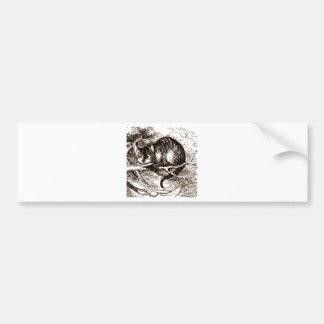 The Cheshire Cat Bumper Stickers