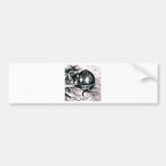 The Cheshire Cat Bumper Sticker