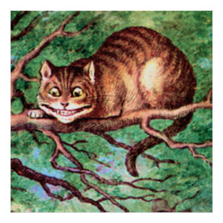 The Cheshire Cat from Alice in Wonderland Poster