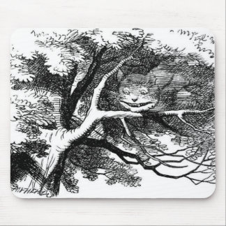 The cheshire cat mouse mat