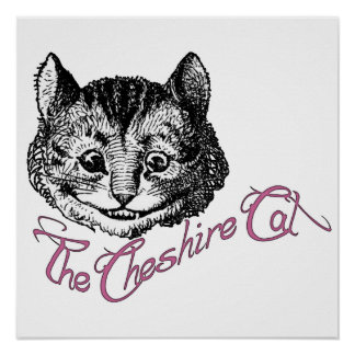 The Cheshire Cat Posters
