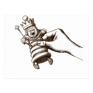 The Chess King Original Postcard