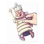 The Chess King Postcard