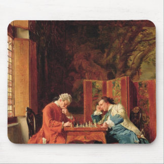 The Chess Players, 1856 Mouse Mat
