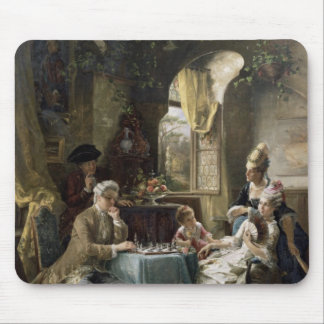 The Chess Players, 1887 2 Mouse Mat