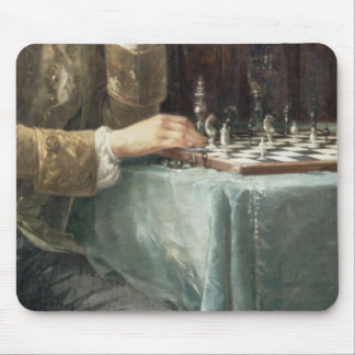 The Chess Players, 1887 Mouse Mat
