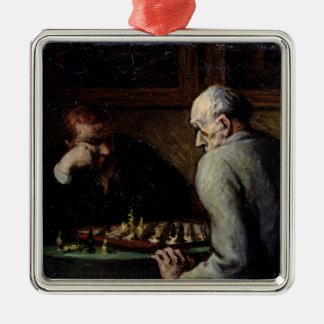 The Chess Players, c.1863-67 Christmas Ornament