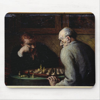 The Chess Players, c.1863-67 Mouse Mat