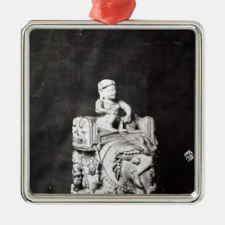 The Chessboard of Charlemagne' Christmas Ornament