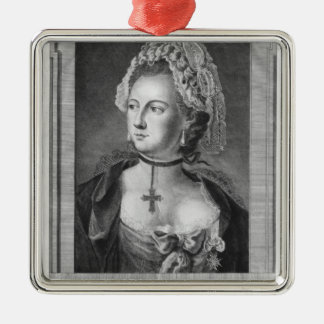 The Chevalier d'Eon, dressed as a woman Christmas Ornament