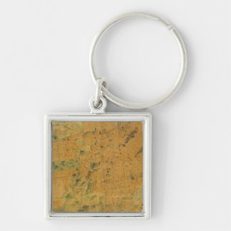 The Chevalier  Map of San Francisco Keychain