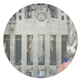 'The Chicago Board of Trade, Chicago, Illinois' Plate