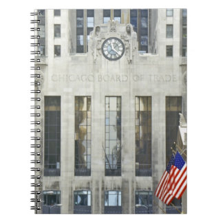 'The Chicago Board of Trade, Chicago, Illinois' Spiral Note Books