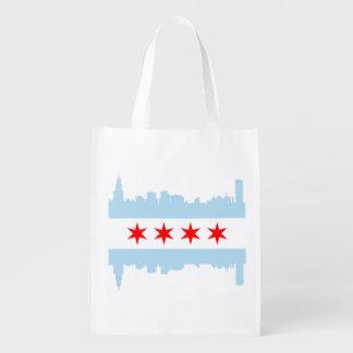 The Chicago Flag Skyline
