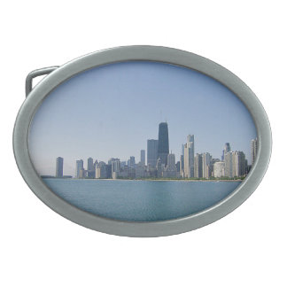 The Chicago Skyline Belt Buckle